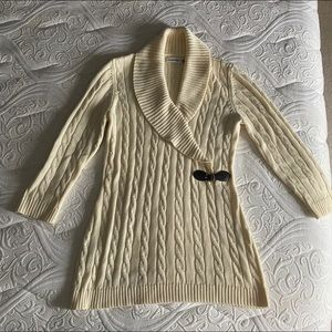 Calvin Klein Cable sweater winter is coming!